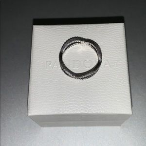 Pandora Jewelry - Pandora Crossing Bands Ring